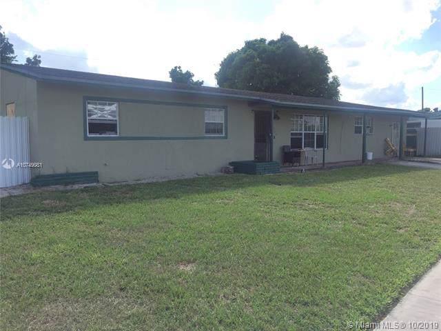 4260 NW 178th Ter, Miami Gardens, FL 33055 (MLS #A10749981) :: Grove Properties