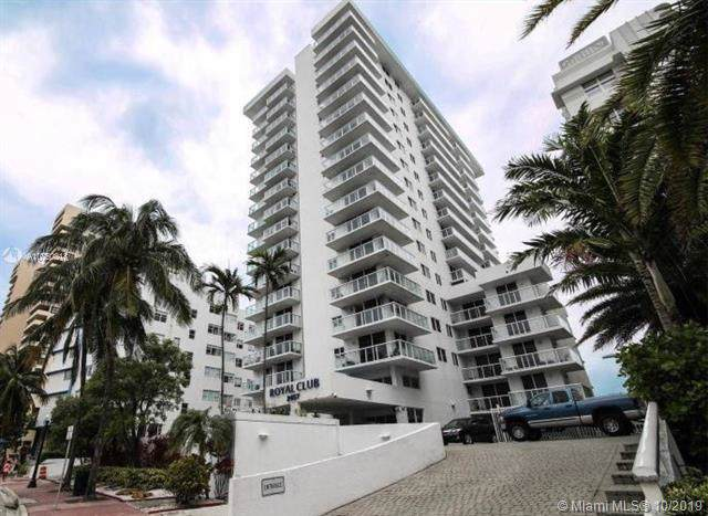 2457 Collins Ave #1705, Miami Beach, FL 33140 (MLS #A10750218) :: Ray De Leon with One Sotheby's International Realty