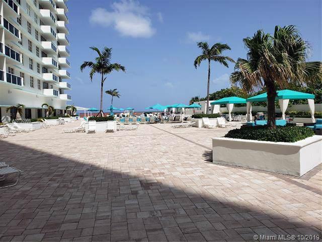 3725 S Ocean Dr #321, Hollywood, FL 33019 (MLS #A10750966) :: Berkshire Hathaway HomeServices EWM Realty