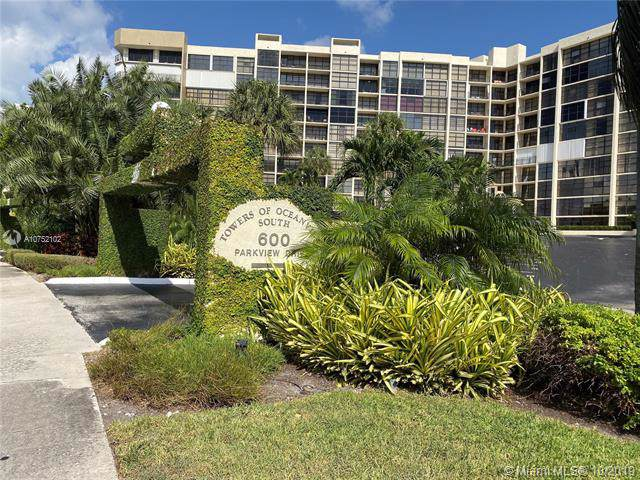 600 Parkview Dr #705, Hallandale, FL 33009 (MLS #A10752102) :: Patty Accorto Team
