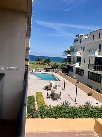 9511 Collins Ave #308, Surfside, FL 33154 (MLS #A10753180) :: Miami Villa Group