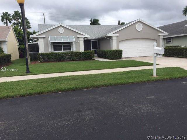 687 SE 27th Dr, Homestead, FL 33033 (MLS #A10756064) :: Berkshire Hathaway HomeServices EWM Realty