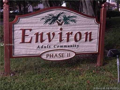 3771 NE Environ Blvd #749, Lauderhill, FL 33319 (MLS #A10759452) :: Berkshire Hathaway HomeServices EWM Realty