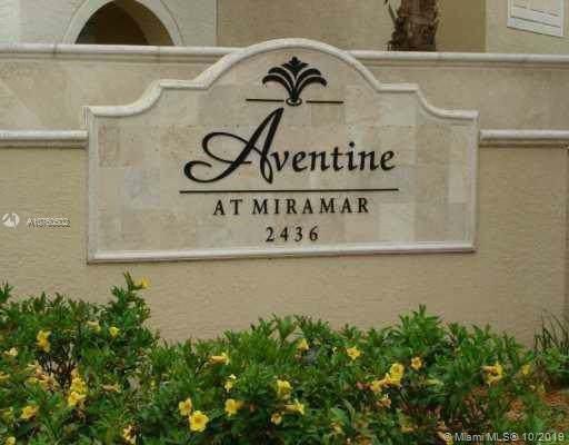 2494 Centergate Dr #102, Miramar, FL 33025 (MLS #A10760502) :: RE/MAX Presidential Real Estate Group