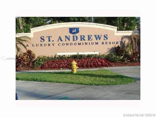 12148 Saint Andrews Pl #104, Miramar, FL 33025 (MLS #A10761148) :: GK Realty Group LLC