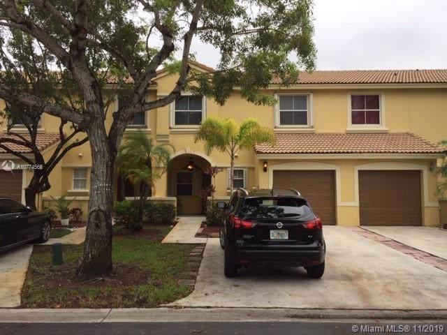 16818 SW 1st Mnr #16818, Pembroke Pines, FL 33027 (MLS #A10774566) :: United Realty Group