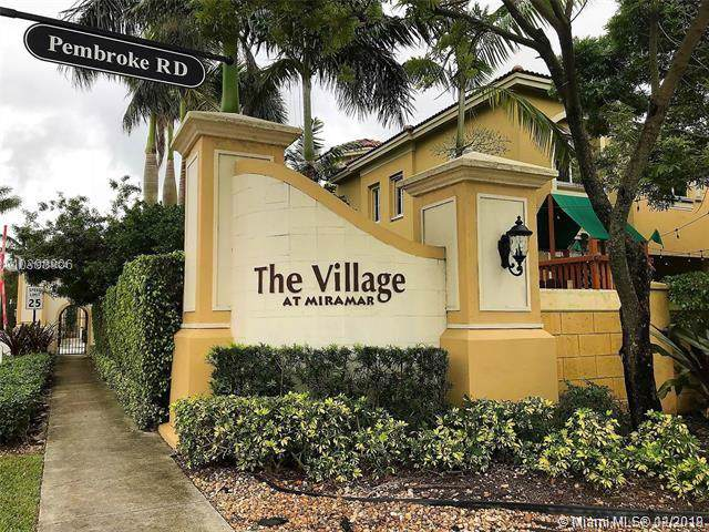 1843 SW 90th Ave #1004, Miramar, FL 33025 (MLS #A10784024) :: The Teri Arbogast Team at Keller Williams Partners SW