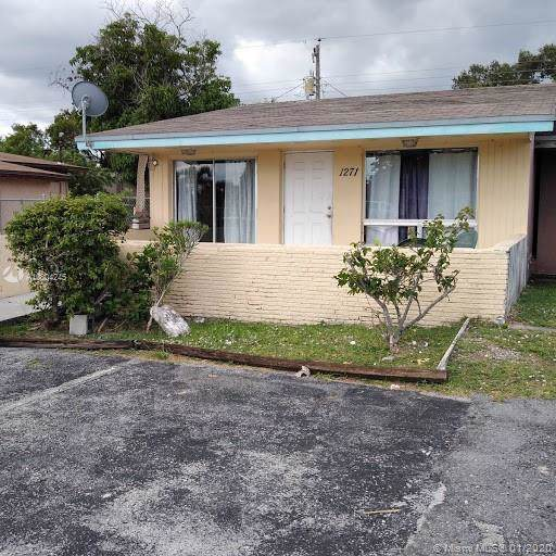 1271 NW 30th Ave, Fort Lauderdale, FL 33311 (MLS #A10804245) :: Green Realty Properties