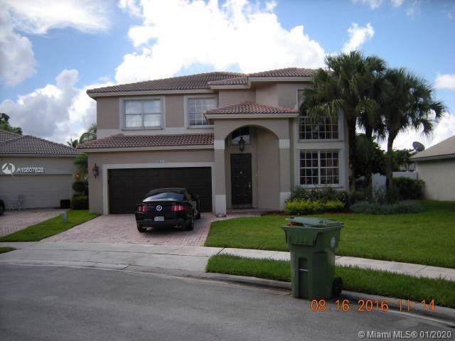 16754 NW 13th St, Pembroke Pines, FL 33028 (MLS #A10807628) :: The Teri Arbogast Team at Keller Williams Partners SW