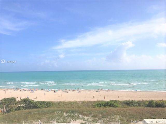 5601 Collins Ave #609, Miami Beach, FL 33140 (MLS #A10808451) :: The Paiz Group