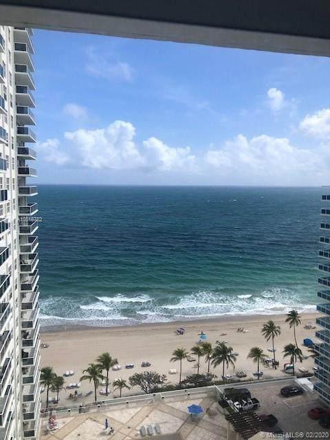 3500 Galt Ocean Dr #1605, Fort Lauderdale, FL 33308 (MLS #A10818782) :: Castelli Real Estate Services