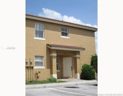 12564 SW 53rd Ct #12564, Miramar, FL 33027 (MLS #A10821332) :: THE BANNON GROUP at RE/MAX CONSULTANTS REALTY I