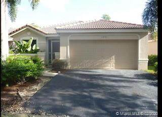 1991 Pisces Ter, Weston, FL 33327 (MLS #A10825405) :: THE BANNON GROUP at RE/MAX CONSULTANTS REALTY I