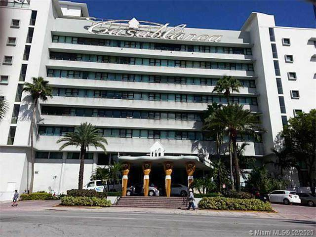 6345 Collins Ave #541, Miami Beach, FL 33141 (MLS #A10825831) :: RE/MAX