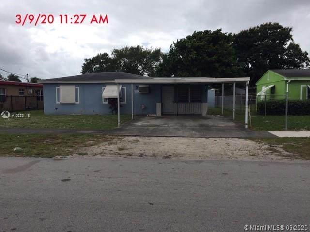 2310 NW 154th St, Miami Gardens, FL 33054 (MLS #A10833116) :: Prestige Realty Group