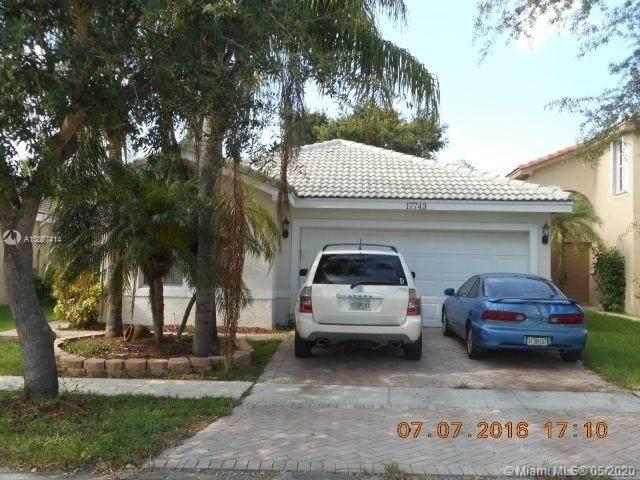 17743 SW 24th Ct, Miramar, FL 33029 (MLS #A10867414) :: ONE | Sotheby's International Realty