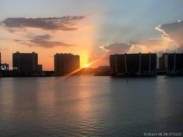 17900 N Bay Rd #604, Sunny Isles Beach, FL 33160 (MLS #A10890238) :: Green Realty Properties