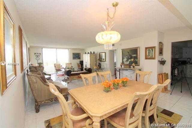 600 Three Islands Blvd #805, Hallandale Beach, FL 33009 (MLS #A10902274) :: Berkshire Hathaway HomeServices EWM Realty