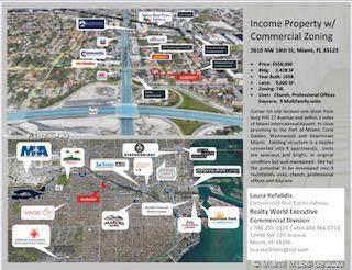 2610 NW 14th St, Miami, FL 33125 (MLS #A10903420) :: Berkshire Hathaway HomeServices EWM Realty