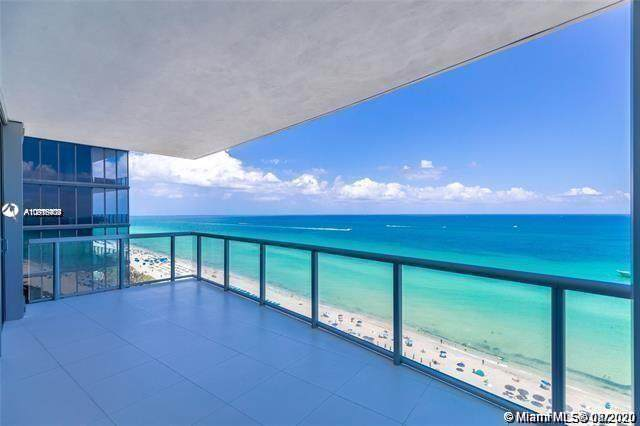 17121 Collins Ave #1507, Sunny Isles Beach, FL 33160 (MLS #A10916404) :: Ray De Leon with One Sotheby's International Realty