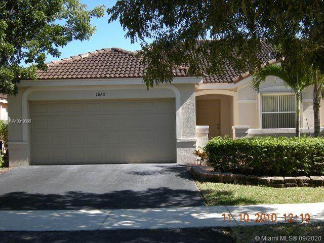 1862 Sirius Ln, Weston, FL 33327 (MLS #A10919385) :: Albert Garcia Team