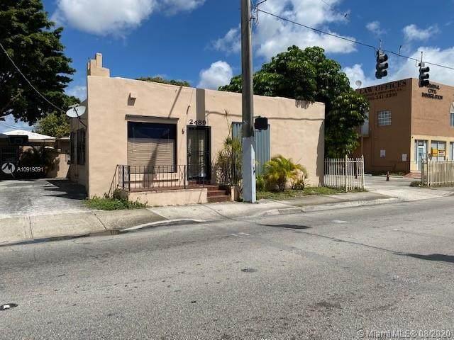 2489 NW 7th St, Miami, FL 33125 (MLS #A10919391) :: Berkshire Hathaway HomeServices EWM Realty