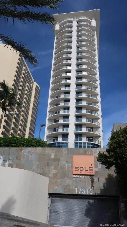 17315 Collins Ave #2202, Sunny Isles Beach, FL 33160 (MLS #A10925272) :: Douglas Elliman