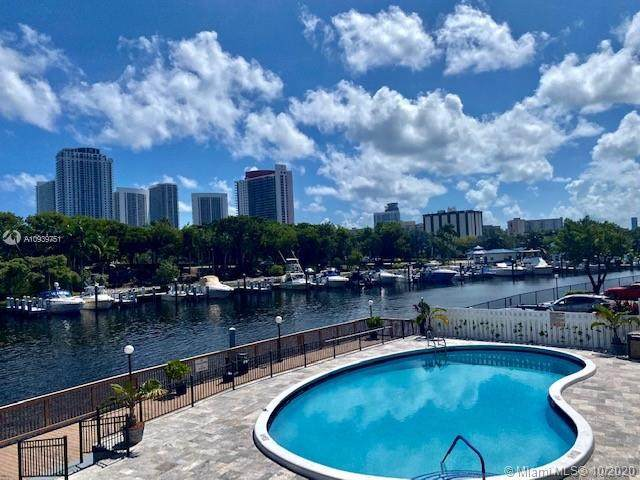 300 Diplomat Pkwy #218, Hallandale Beach, FL 33009 (MLS #A10939751) :: Podium Realty Group Inc