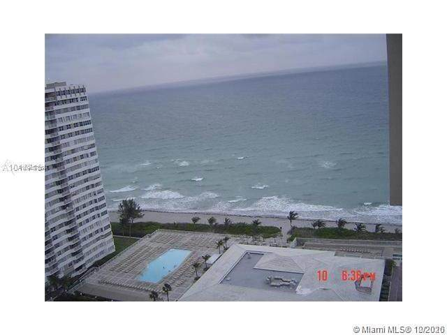 1980 S Ocean Dr Phk, Hallandale Beach, FL 33009 (MLS #A10945786) :: Re/Max PowerPro Realty