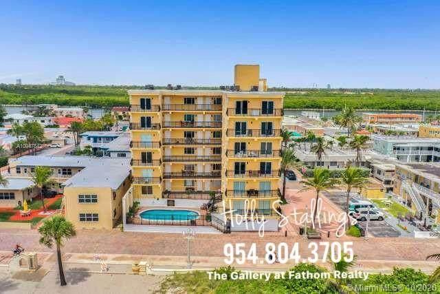 1815 N Surf Rd #703, Hollywood, FL 33019 (MLS #A10947842) :: Green Realty Properties