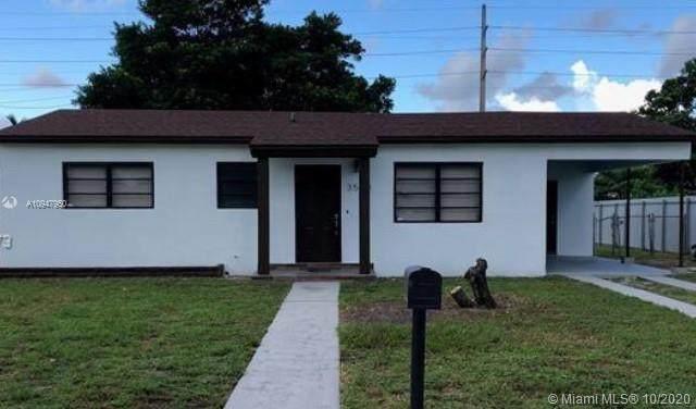 3500 NW 87th Ter, Miami, FL 33147 (MLS #A10947950) :: Carole Smith Real Estate Team