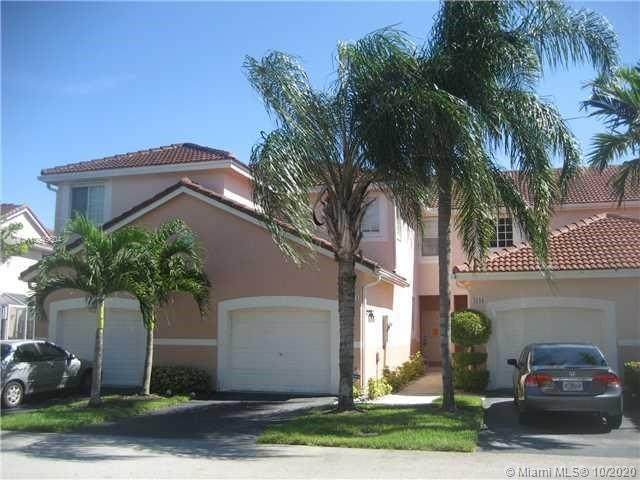 3641 San Simeon Cir #3641, Weston, FL 33331 (MLS #A10949604) :: THE BANNON GROUP at RE/MAX CONSULTANTS REALTY I