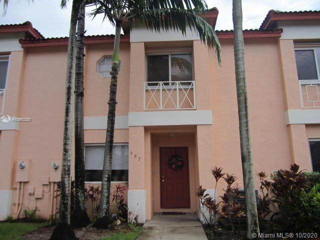587 NW 208th Dr #587, Pembroke Pines, FL 33029 (MLS #A10950385) :: Search Broward Real Estate Team at RE/MAX Unique Realty