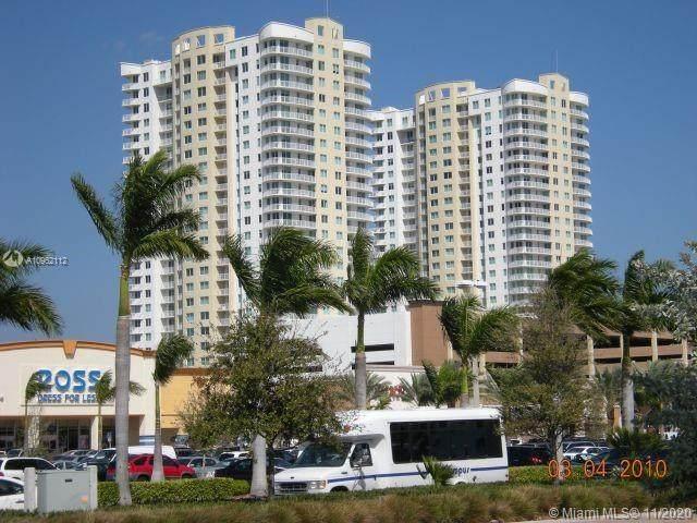1745 E Hallandale Beach Blvd #1406, Hallandale Beach, FL 33009 (MLS #A10962112) :: Ray De Leon with One Sotheby's International Realty
