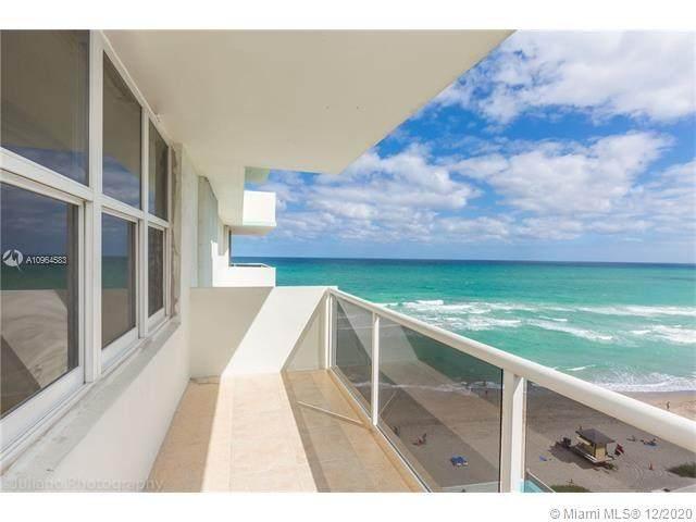 3725 S Ocean Dr #1004, Hollywood, FL 33019 (MLS #A10964583) :: Patty Accorto Team