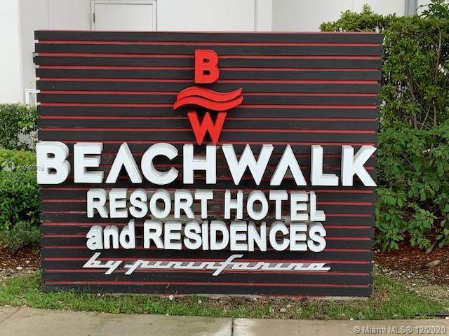 2602 E Hallandale Beach Blvd #904, Hallandale Beach, FL 33009 (MLS #A10968779) :: The Howland Group