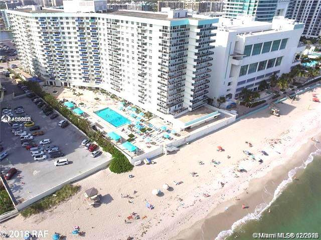 3725 S Ocean Dr #409, Hollywood, FL 33019 (MLS #A10975336) :: Castelli Real Estate Services