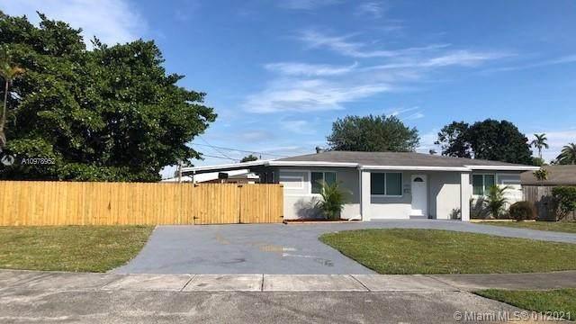 3781 SW 32nd Ct, West Park, FL 33023 (MLS #A10978952) :: Albert Garcia Team