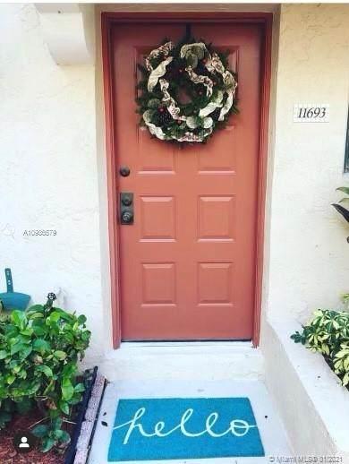 11693 NW 11th St #11693, Pembroke Pines, FL 33026 (MLS #A10986579) :: Green Realty Properties