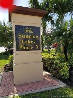 8861 Sunrise Lakes Blvd #302, Sunrise, FL 33322 (MLS #A10988711) :: Jo-Ann Forster Team