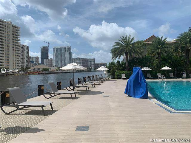 2602 E Hallandale Beach Blvd R704, Hallandale Beach, FL 33009 (MLS #A10995145) :: The Riley Smith Group