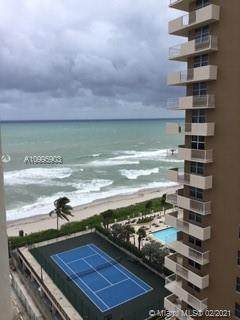 1904 S Ocean Dr #1404, Hallandale Beach, FL 33009 (MLS #A10995903) :: The Riley Smith Group