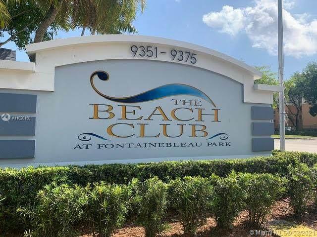 9375 Fontainebleau Blvd L227, Miami, FL 33172 (MLS #A11020130) :: Compass FL LLC