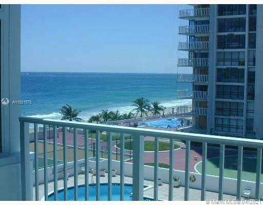 1360 S Ocean Blvd #403, Pompano Beach, FL 33062 (MLS #A11021578) :: ONE | Sotheby's International Realty