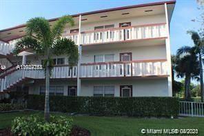 224 Brighton F #224, Boca Raton, FL 33434 (MLS #A11024163) :: The Howland Group