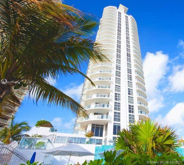 18683 Collins Ave #1808, Sunny Isles Beach, FL 33160 (MLS #A11041860) :: The Rose Harris Group