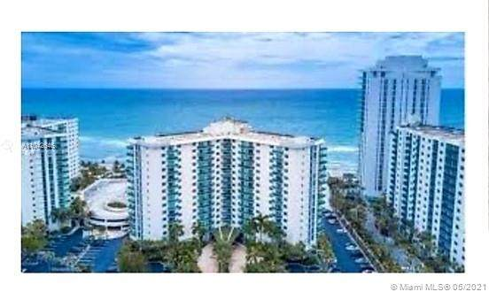 3725 S Ocean Dr #311, Hollywood, FL 33019 (MLS #A11042646) :: The Rose Harris Group