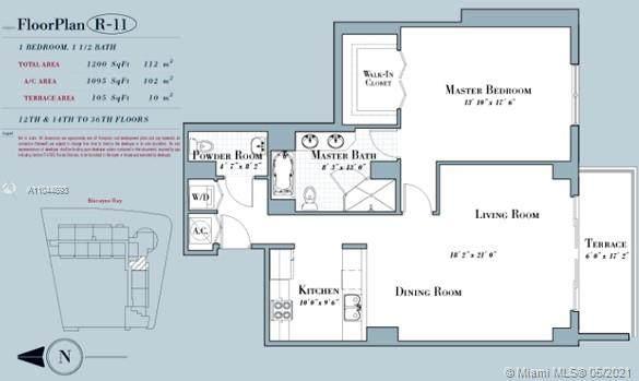 1800 N Bayshore Dr #3311, Miami, FL 33132 (MLS #A11044893) :: Castelli Real Estate Services