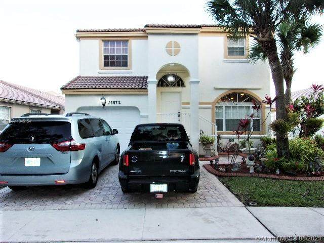 15872 NW 21 St, Pembroke Pines, FL 33028 (MLS #A11046154) :: Berkshire Hathaway HomeServices EWM Realty
