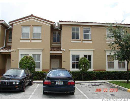 4175 SW 157th Ave #165, Miramar, FL 33027 (MLS #A11058575) :: United Realty Group